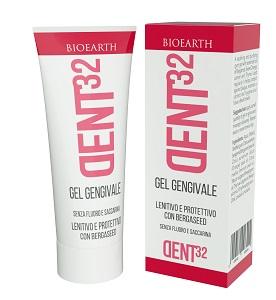 DENT32 GEL GENGIVALE LENITIVO E PROTETTIVO BERGASEED 20 ML SENZA FLUORO E SACCARINA - Farmaseller