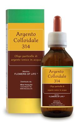ARGENTO COLLOIDALE 314 100 ML FLOWERS OF LIFE - Farmacia 33