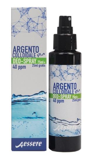 Argento Colloidale Plus Deodorante Spray 75ml + 25ml - Arcafarma.it