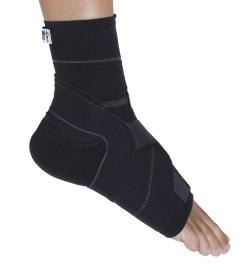 Gibaud Ortho Cavigliera per Legamenti Nero Misura 1
