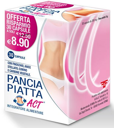 PANCIA PIATTA ACT 30 CAPSULE 300 MG - Spacefarma.it