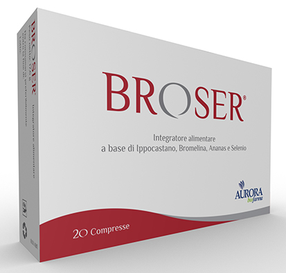 BROSER 20 COMPRESSE - Spacefarma.it