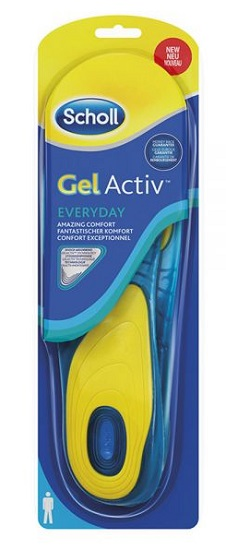SCHOLL GEL ACTIV EVERYDAY UOMO - farmaciadeglispeziali.it