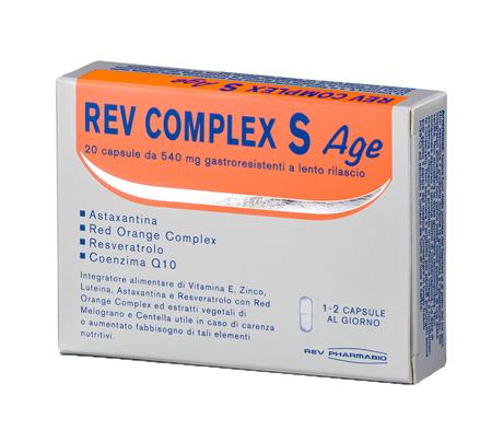REV COMPLEX S AGE 20 CAPSULE - Farmacia Giotti