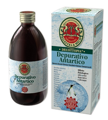 DEPURATIVO ANTARTICO CON STEVIA 500 ML - Farmafamily.it
