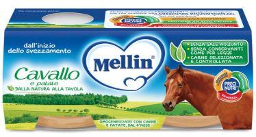 MELLIN OMOGENEIZZATO CAVALLO E PATATE 2 X 80 G - latuafarmaciaonline.it