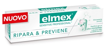 DENTIFRICIO ELMEX SENSITIVE RIPARA & PREVIENE 75 ML - Farmapage.it