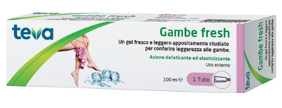 GAMBE FRESH TEVA GEL 100 ML - Farmapage.it
