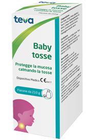 BABY TOSSE TEVA SCIROPPO 210 G - FARMAEMPORIO