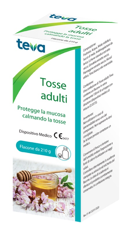 TOSSE ADULTI TEVA SCIROPPO 210 G - Farmapage.it