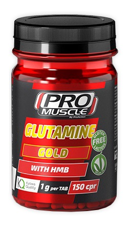 ProAction ProMuscle Glutamine Gold Con HMB 150 Compresse - latuafarmaciaonline.it