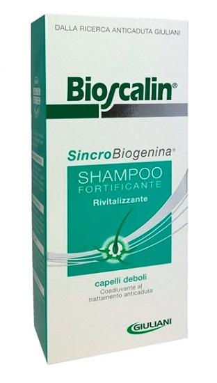 BIOSCALIN SINCROBIOGENINA SHAMPOO FORTIFICANTE RIVITALIZZANTE PRIMAVERA 200 ML - Zfarmacia