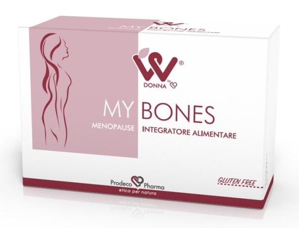 DONNA W MY BONES MENOPAUSA 4 BLISTER DA 15 COMPRESSE - Farmacia Centrale Dr. Monteleone Adriano