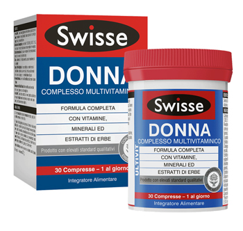SWISSE MULTIVITAMINICO DONNA 30 COMPRESSE - Carafarmacia.it