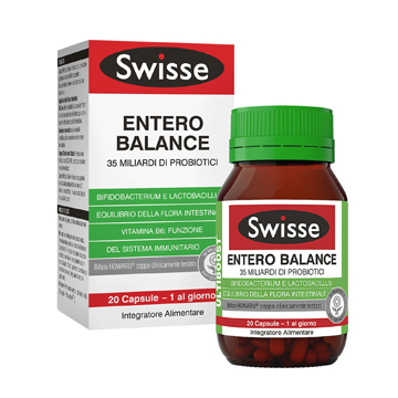 SWISSE ENTERO BALANCE 20 CAPSULE - Farmajoy