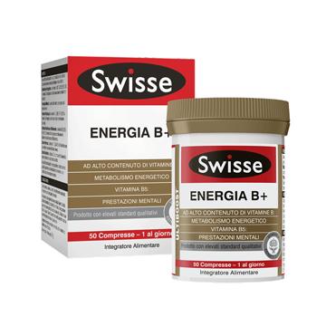SWISSE ENERGIA B+ 50 COMPRESSE - Farmajoy