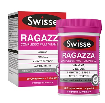 SWISSE MULTIVIT RAGAZZA 60 COMPRESSE - Carafarmacia.it