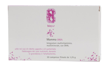 BIOPUR MAMMA DHA 30 COMPRESSE - Farmacia Centrale Dr. Monteleone Adriano