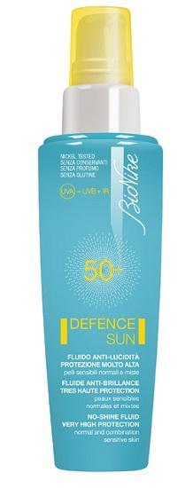 DEFENCE SUN 50+ FLUDIO ANTI LUCIDITA' PROTEZIONE MOLTO ALTA 50 ML - Farmapage.it