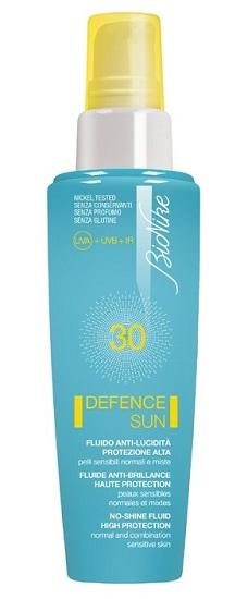 DEFENCE SUN 30 FLUIDO ANTI LUCIDITA' PROTEZIONE ALTA 50 ML - Farmapage.it