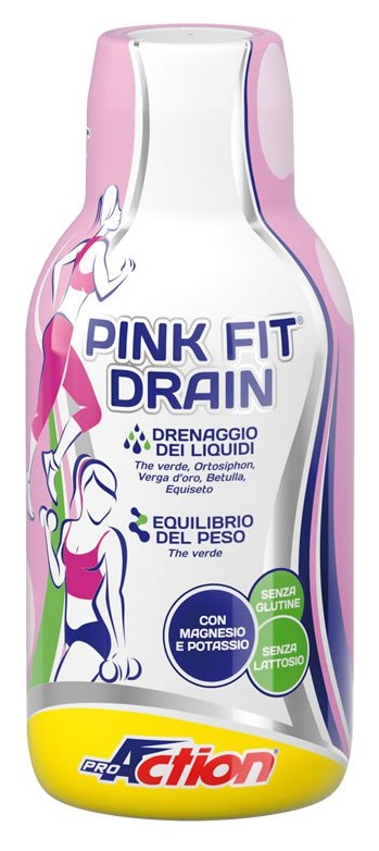 PROACTION PINK FIT DRAIN 500ML - Farmacia Giotti