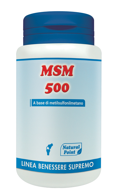 MSM 500 100 CAPSULE VEGETALI - La farmacia digitale