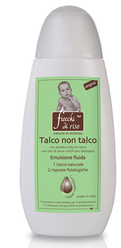 FIOCCHI DI RISO TALCO NON TALCO ORIGINAL 120 ML - Farmapage.it
