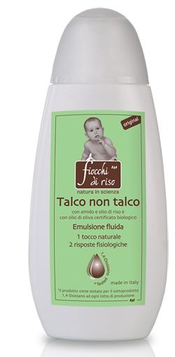 FIOCCHI DI RISO TALCO NON TALCO ORIGINAL 120 ML - SUBITOINFARMA