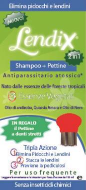 LENDIX SHAMPOO PLUS 150 ML + PETTINE ANTI PIDOCCHI 2 IN 1 - Farmacia Centrale Dr. Monteleone Adriano