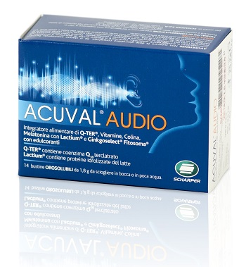 ACUVAL AUDIO 14 BUSTINE OROSOLUBILE 1,8 G - Sempredisponibile.it