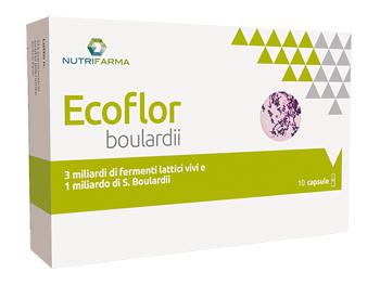 ECOFLOR BOULARDII 10 CAPSULE - Farmabros.it