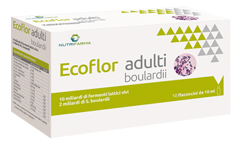 ECOFLOR ADULTI BOULARDII 10 FLACONCINI 10 ML - Farmapage.it