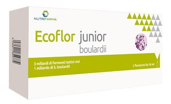 ECOFLOR JUNIOR BOULARDII 6 FLACONCINI 10 ML - SUBITOINFARMA