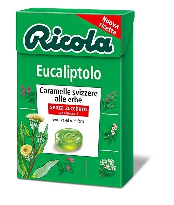 RICOLA EUCALIPTOLO SENZA ZUCCHERO 50 G - Farmapage.it