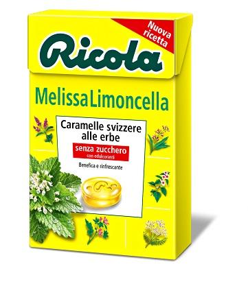 RICOLA MELISSA LIMONCELLA SENZA ZUCCHERO 50 G - Farmastar.it