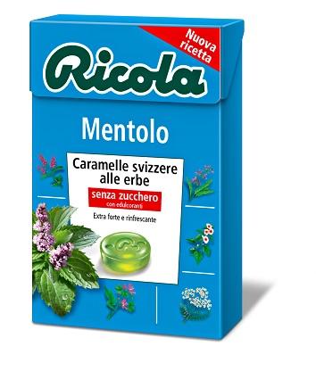 RICOLA MENTOLO SENZA ZUCCHERO 50 G - Farmia.it