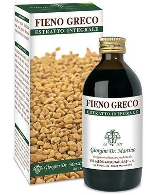 Dr. Giorgini Fieno Greco estratto Integrale Integratore 200 ml