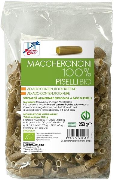MACCHERONCINI PISELLI100% BIO - FARMAEMPORIO