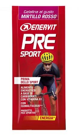 Enervit Pre Sport Gelatina al Gusto Mirtillo Rosso 1 Bustina 45g - Sempredisponibile.it