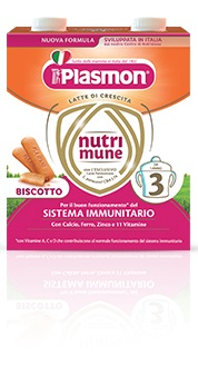 PLASMON NUTRIMUNE STAGE 3 BISCOTTO LIQUIDO 2 X 500 ML - Spacefarma.it