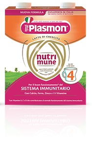 PLASMON NUTRI-MUNE 4 LIQUIDO 2 PEZZI - Spacefarma.it