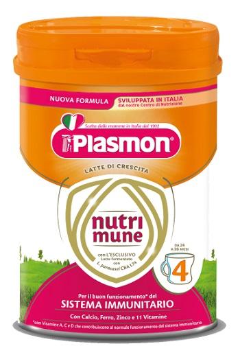 PLASMON NUTRI-MUNE 4 POLVERE 750 G - Farmacia della salute 360