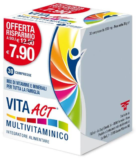 VITA ACT MULTIVITAMINICO 30 COMPRESSE - Farmastar.it