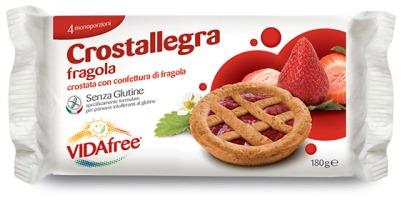 VIDAFREE CROSTALLEGRA FRAGOLA 180 G - FARMAPRIME