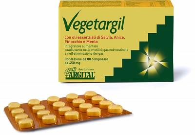 VEGETARGIL 80 COMPRESSE - Farmacia Centrale Dr. Monteleone Adriano