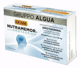 GUAM GRUPPO ALGUA NUTRAMEMOR 30 CAPSULE VEGETALI - Zfarmacia