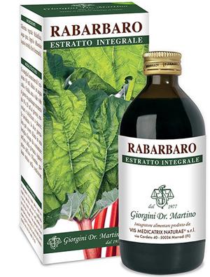 RABARBARO ESTRATTO INTEGRALE 200 ML - Farmacia Centrale Dr. Monteleone Adriano