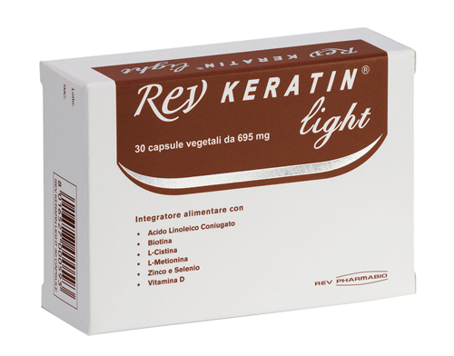 REV KERATIN LIGHT 30 CAPSULE - Farmabenni.it