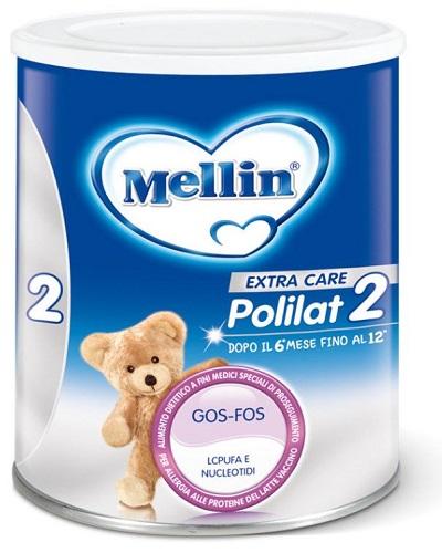 MELLIN POLILAT 2 LATTE POLVERE 400 G - Farmalke.it