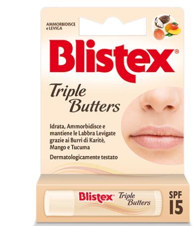 BLISTEX TRIPLE BUTTERS STICK LABBRA